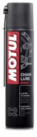 Kettingspray Motul Chain Lube Road Plus PTFE C2 spuitbus 400 ml