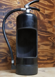 """Deco lamp Fire Extinguisher """"Charcoal"""""""