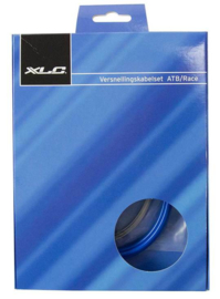 Remkabel XLC MTB / Race BLAUW voorrem of achterrem, compleet
