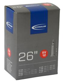 Binnenband Schwalbe SV12 26x1 3/8 26x1 5/8 37-590 44-590 Frans ventiel