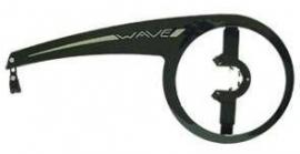 """Kettingscherm Gazelle Axa Wave 48T zwart 28"""""""
