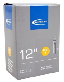 Binnenband Schwalbe DV1 12 1/2x1.75 Hollands ventiel