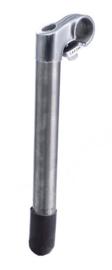 Stuurpen Leechi 25.4mm L=230mm zilver / RVS