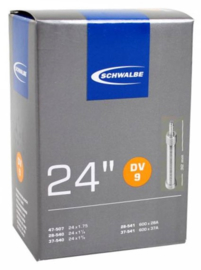 Binnenband Schwalbe DV9 24x1 3/8 24x1.75 Hollands ventiel