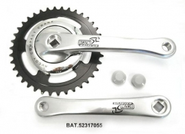 Crankstel Batavus Compact zilver 38 tands