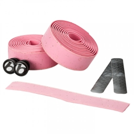 Stuurlint Bontrager Gel Cork roze / light pink