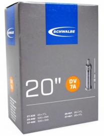 Binnenband Schwalbe DV7A 20x1 1/8 20x1 3/8 Hollands ventiel
