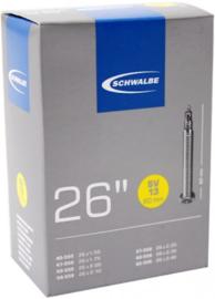 Binnenband Schwalbe SV13 XL 26x1.50/2.50 40/62-559 Frans ventiel 60mm