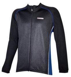 Fietsjack winter Fastrider One maat M zwart/blauw