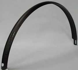 Spatbord achter Gazelle C-Lite 45mm zwart met tekst 'Gazelle Lite'
