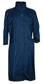 Regenjas lang Trenchcoat Fastrider Classic maat XXL marine