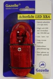 Achterlicht Gazelle XBA LED op batterijen