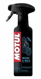 Wasmiddel met wax Motul Wash & Wax E1 400ml