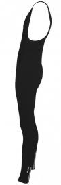 Fietsbroek lang Fastrider Uni bretels maat L zwart