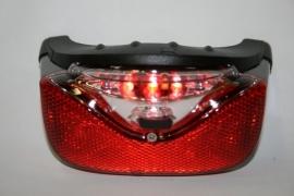 Achterlicht Gazelle A-Vision LED batterijen