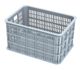 Krat kunststof Basil Crate L Silver Cloud 50 liter