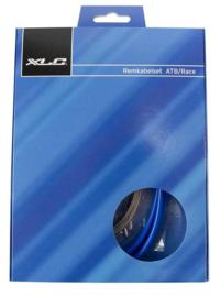 Versnellingskabel XLC MTB / Race BLAUW, compleet