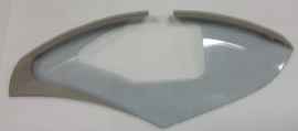 "Jasbeschermers Gazelle Linea 3D met slot- en remgat 53 - 57cm / 28"""