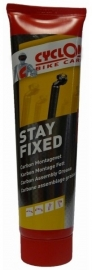 Montagepasta Cyclon Stay Fixed voor Carbon / Aluminium onderdelen tube 150 ml