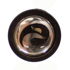 Spatbordstang clip Batavus Eurofender zwart met logo