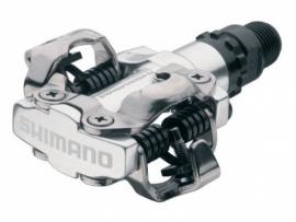 Pedalen Shimano PD-M520 ATB SPD zilver