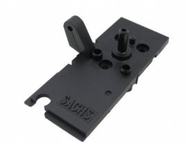 Bovenplaat carburateur kaal Bing Spartamet / Saxonette SAX342052 26-941