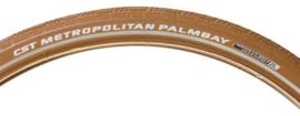 Buitenband CST Metropolitan Palmbay 28x2.00 50-622 CARAMEL