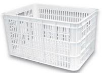 Krat kunststof Basil Crate L WIT 50 liter