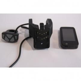 Display Gazelle Panasonic Hybrid F HFP incl. houder en bediening