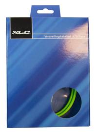 Versnellingskabel XLC MTB / Race GROEN, compleet
