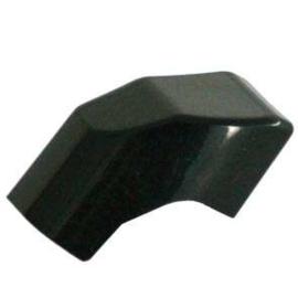 Losse knop ringslot Axa Solid zwart