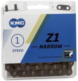 Ketting KMC Z1 Narrow 1/2x3/32 SMAL 112 Schakels (bruin)