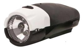 Koplamp XLC Spanninga Goma LED Aan / uit batterij