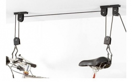 Fietslift / takel met 2 katrollen, max 20 kg