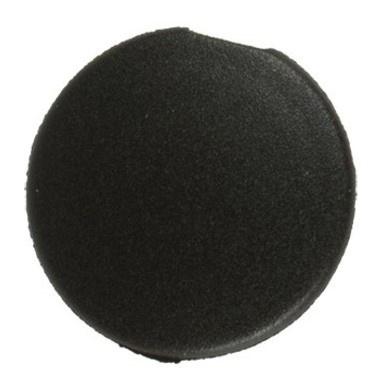 Crankdop kunststof zwart (per stuk)