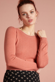 Agnes Top Cocoon Dusty Rose