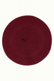 Beret Wool Windsor Red