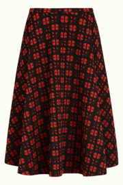 Circle Skirt Wick Clay Red 06727
