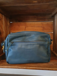 Pasadena Bag Buff Washed Dusty Petrol