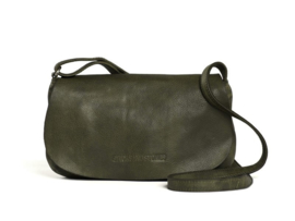 Rio Bag Cow Vegetable Tan Dark Olive 19532