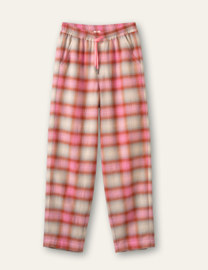 Pleasant Pants Yarn Dyed Shadow Check Pink
