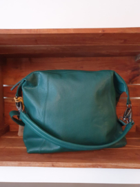 Savona Bag Buff Washed Pine Green