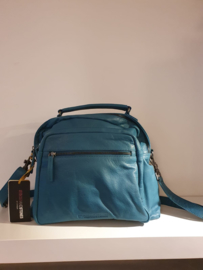 Catania Bag Buff Washed Deep Lagoon 22301