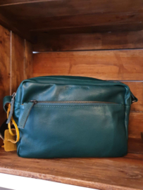 Pasadena Bag Buff Washed Pine Green