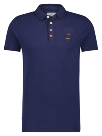 Polo Garment Dye Navy 22.03.306