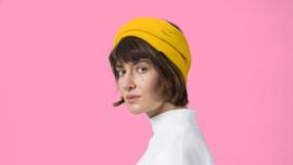 Woollen Bandeau 040 Yellow