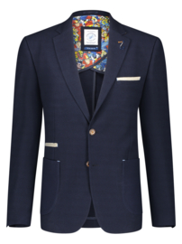 Blazer Jersey Navy Bubble 22.01.120