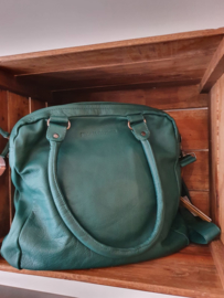 Austin Bag Buff Washed Pine Green