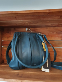 Annecy Bag Buff Washed Dusty Petrol
