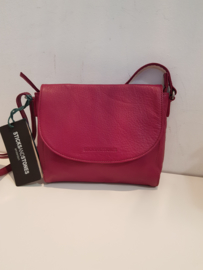 Berkely Bag Buff Washed Mulberry Red
